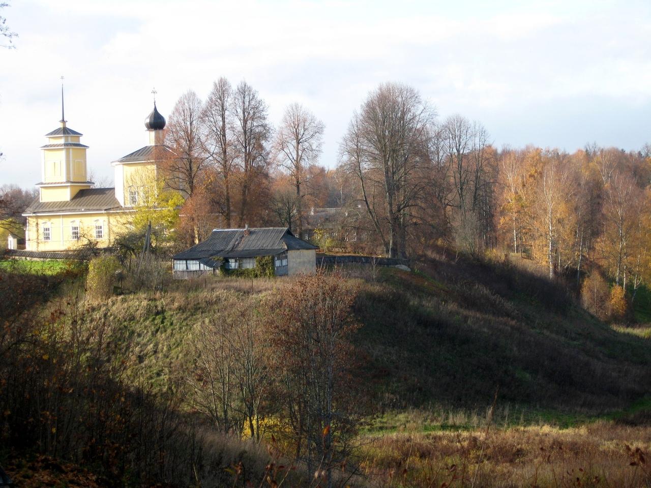 Поездка в Пушкиногорье. Два древних городища - Воронич и Савкино. Наследие Древней Руси