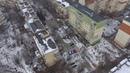 Околиця міста Чернівці з висоти пташиного польоту