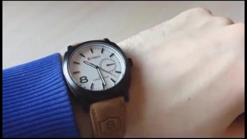 Обзор Оригинальных часов Curren GMT casual Chronometer