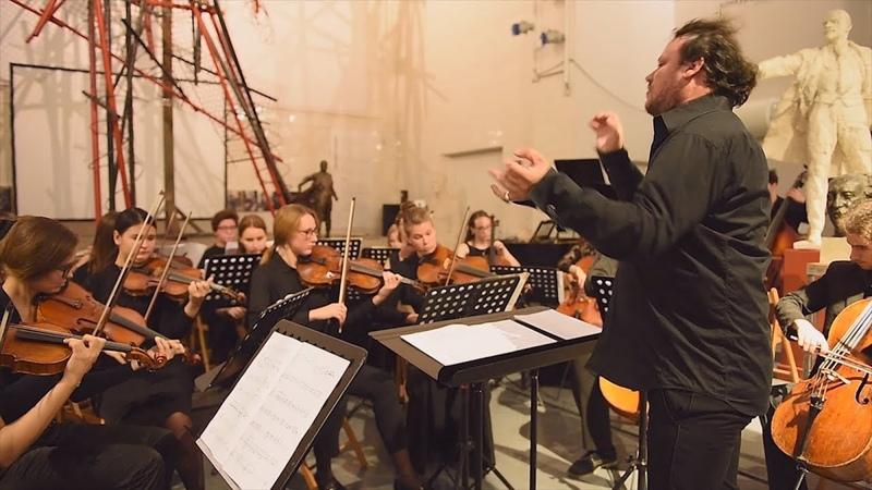 Evgeny Grigorovich - TARANTELLA for chamber orchestra, Conductor Anton Lubchenko