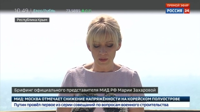 Новости на Россия 24 • Захарова Россия все сделает для освобождения журналиста Вышинского