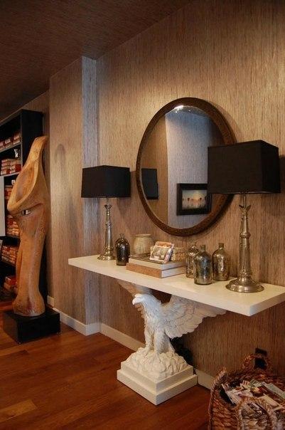 Такая консоль станет изюминкой гостинной комнаты… (1 фото) - картинка