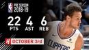 Danillo Gallinari Full Highlights Timberwolves vs Clippers - 2018.10.03 - 22 Pts, 4 Ast, 6 Reb!