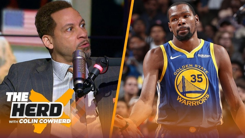 Chris Broussard says 'jealousy' is behind KD's comments on LeBron, talks Westbrook   NBA   THE HERD