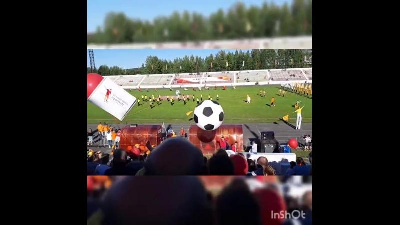 Открытие Кубка по футболу ЕВРАЗ г Качканар 11 08 18