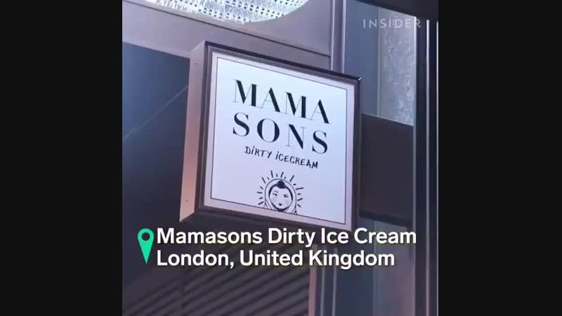 Black Ice Cream... 🍦🍦🍦🤩👌, Gimana rasa nya ya, Ada yg udah pernah nyoba gaess 🤔✌✌✌😁🤩