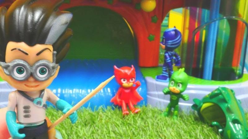 Pijamaskeliler çizgi film oyuncakları. Romeo işler karıştırıyor