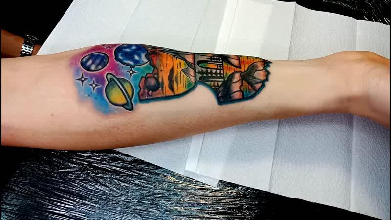 Студия Art Line. Татуировка для Максима