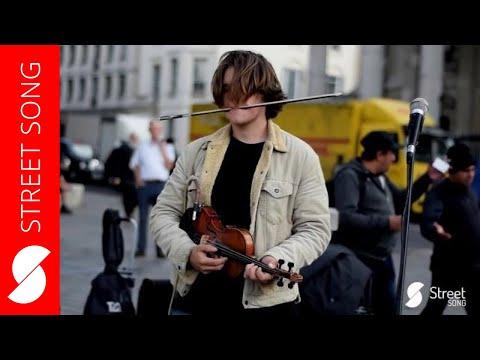 Cam Nicholson (No Permit) - Pachelbel's Canon in D Major - AMAZING loop pedal violin