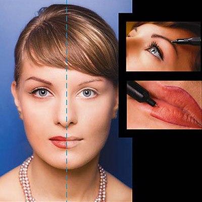 Перманентный макияж бровей видео