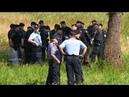 """Migranten wollen mit """"Allahu Akbar Rufen kroatische Grenze stürmen Beamte greifen druch"""