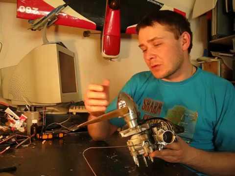 обзор конверсии двигателя авиамодели ЯК 12