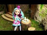 Как сделать домик на дереве для кукол
