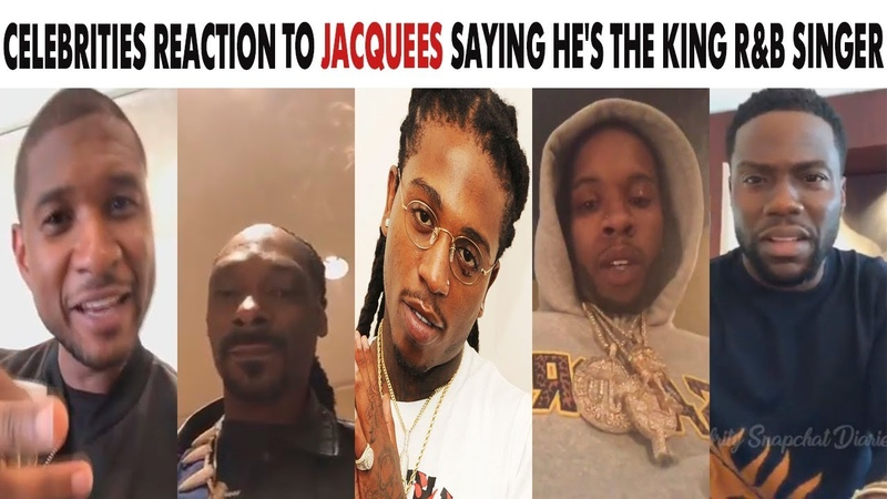 Celebs React To Jacquees Saying He's This Generation's King of RB