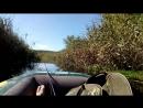возвращались с рыбалки домой и снимали на видеокамеру красивые виды реки сухая Россошь