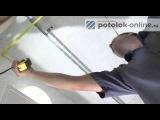 Как монтировать реечный потолок. Часть 1