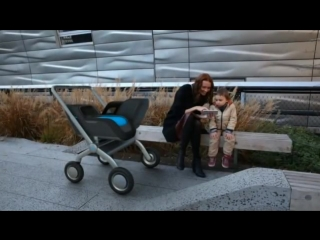 SmartBe, The self-propelling baby stroller with climate control & brakes!.mp4