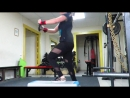 Немного хардкора 5-повторный максимум в приседе доводим до 7 тайский бокс локоть побеждает руку, колено-ногу