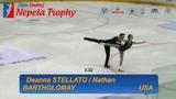 Deanna STELLATO &amp Nathan BARTHOLOMAY USA Free Skate Ondrej Nepela 2018
