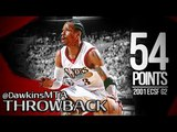 Allen Iverson Full Highlights 2001 ECSF Game 2 vs Raptors - NASTY 54 Pts!