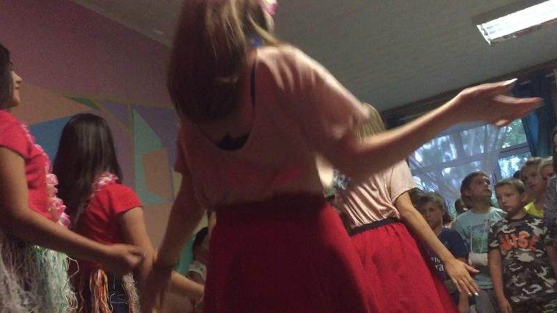Гавайская дискотека танец африканок