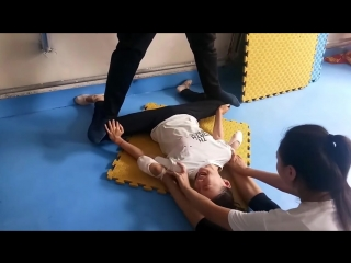 SLs 強制柔軟地獄 gymnastics school painful flexibility stretching