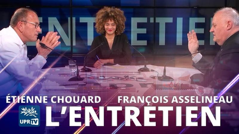 Étienne Chouard - François Asselineau Lentretien - UPR TV