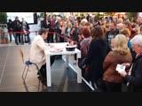 Томас Андерс подписывает автографы в Kauf Park в Гёттингене, 25.10.2018