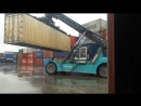 Тяжёлый контейнерный погрузчик