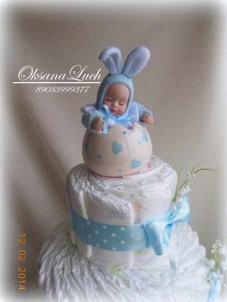 фото тортов для новорожденных