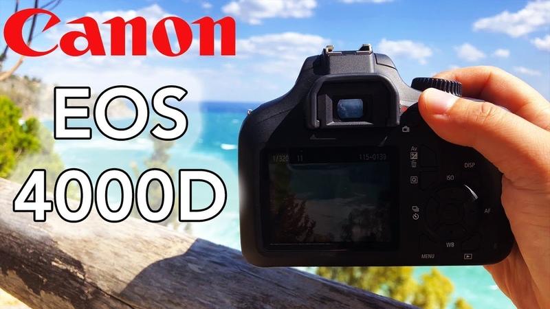 Canon EOS 4000D Test Foto Video - APS-C perfetta per iniziare