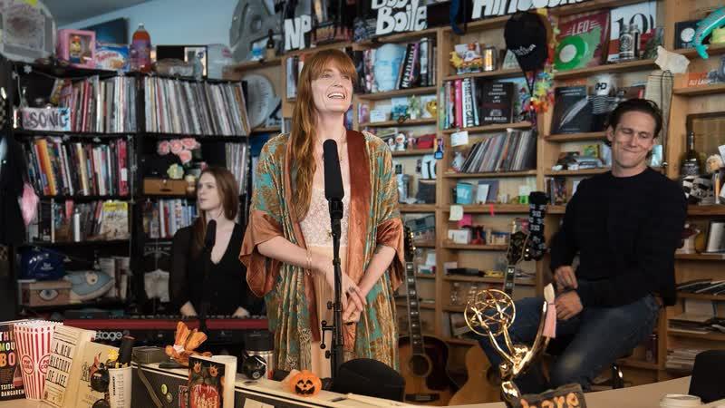 Florence The Machine – June / Patricia / Ship To Wreck (Live @ NPR Tiny Desk Concert)