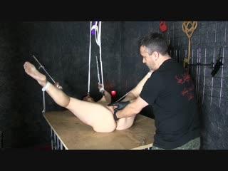 Fisting orgasms in bondage [фистинг, fisting, extreme pussy insertion, gape, bdsm, домашнее порно]