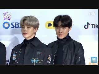 181225 bts red carpet @  sbs gayo daejun music awards 2018