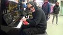 Christmas Blues at the Station Piano