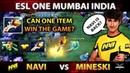 NA`VI vs MINESKI Comeback After Comeback!?! MOST EPIC Match of ESL ONE Mumbai - INSANE, CRAZY, BEST!