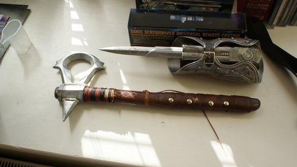 Оружие ассасина как сделать из дерева
