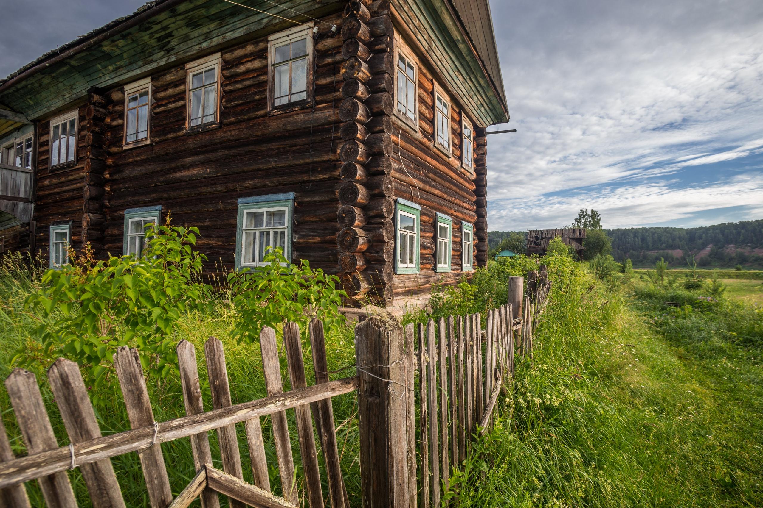 Деревня Порог