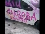 Наезд на яндекс такси в Глазове! ЖЕСТЬ!!!