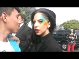 Meeting lady gaga at amp radio applause 08.13.2013