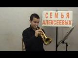 Музыка из кф Танцующий с волками  Труба   Алексеев Егор