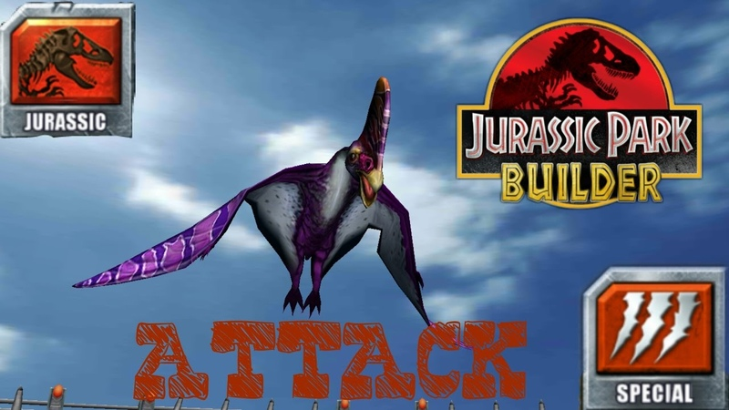 Jurassic Parc Builder Нарезка особых атак Cutting Special Attacks Jurassuc