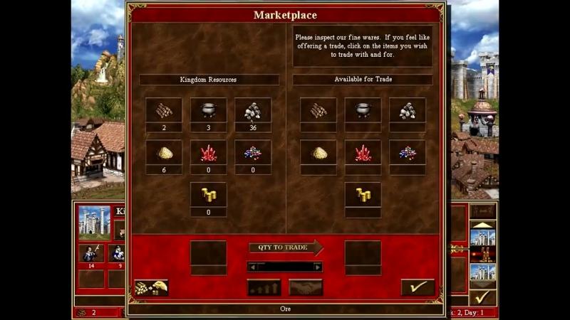[Sir Troglodyte] Герои III, 1 против 7 (в Команде), маленькая карта, Сложность 200%, Цитадель