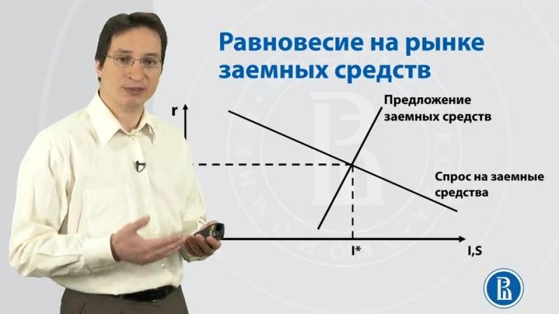Лекция 3.6 Равновесие на рынке заемных средств. Общее равновесие
