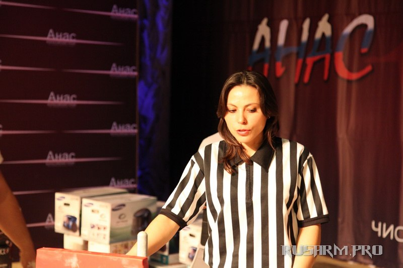 Venera Urazgildeeva (The Organizer) - Anas 2013 - Armwrestling tournament in Chistopol