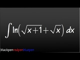 Putting this integral on my calc 2 exam