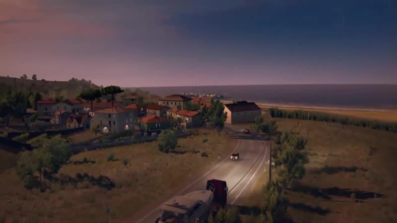 Остров Сардиния будет добавлен в обновлении 1 35 для карты Италии в игре Euro Truck Simulator 2
