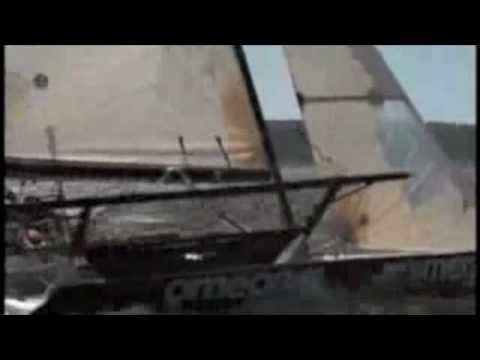 18ft skiff sailing