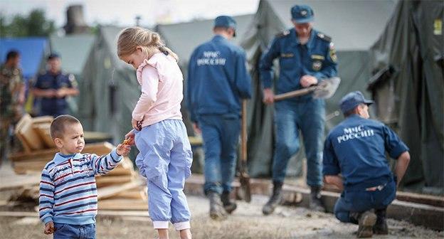 В Ростовской области могут снова построить палаточные лагеря для беженцев из Украины
