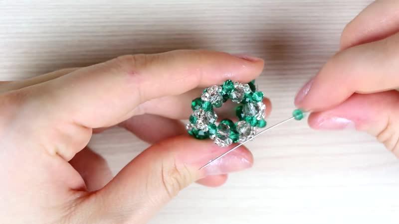 Серьги кисточки из ниток своими руками Tutorial_ Tassel Earrings DIY